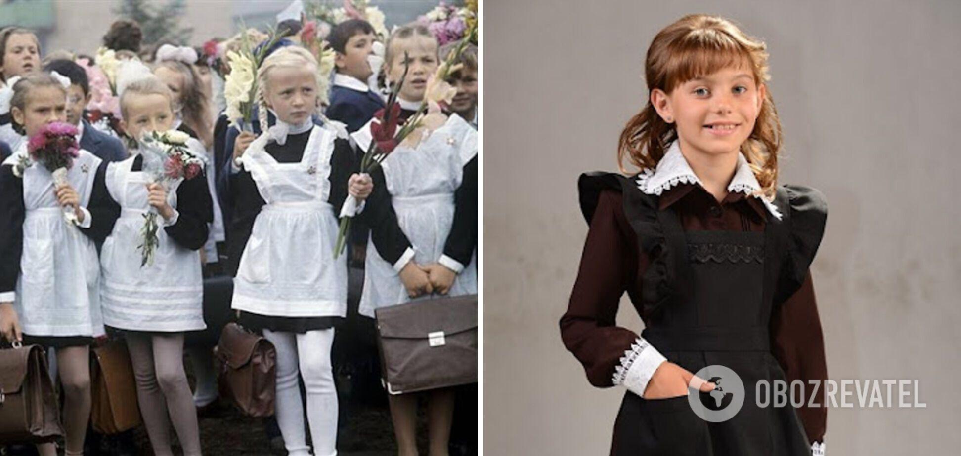 Усі школярі в СРСР були в однакових формах