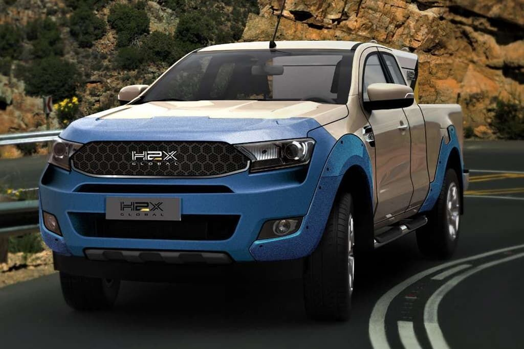 Пікап Warrego створений на базі популярної в Австралії моделі Ford Ranger