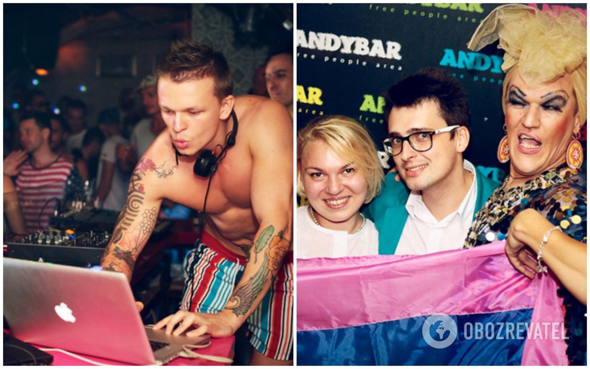 Andy Bar у Києві ідеально підходить для занурення в світ клубів для ЛГБТ
