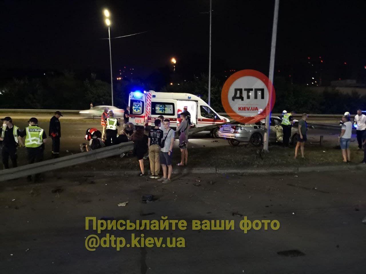 Авария произошла в ночь с 1 на 2 августа.