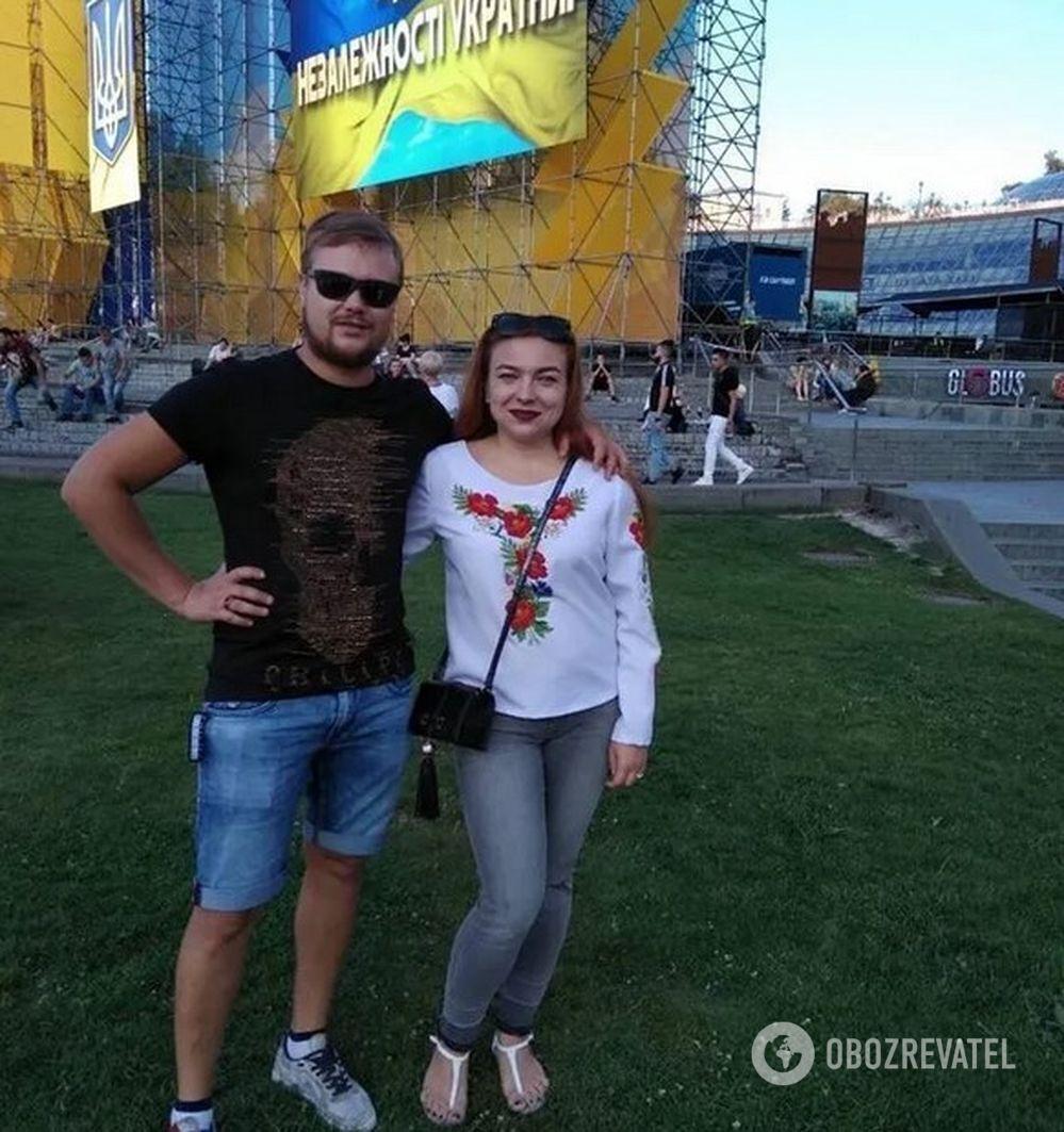 Ольга з чоловіком Михайлом
