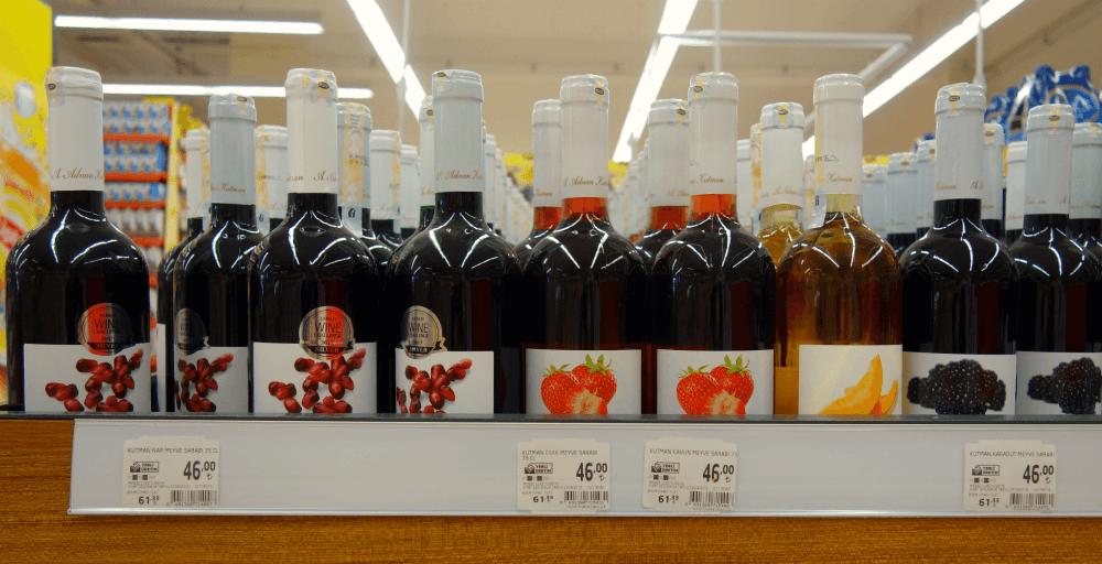 Алкоголь за прийнятною ціною варто шукати в супермаркетах місцевої мережі Migros