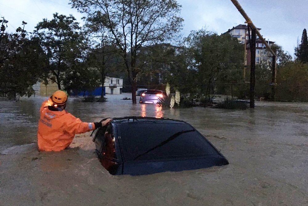 Наводнение в России