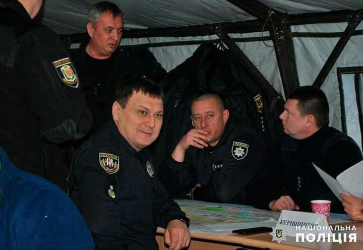 Анатолий Дмитриев с коллегами-руководителями