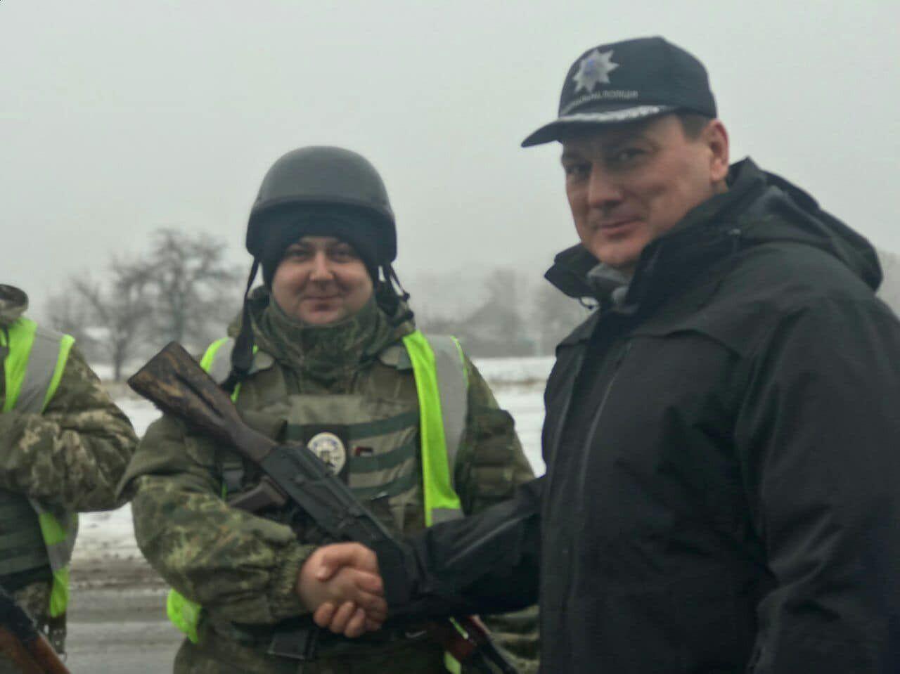 Генерал поблагодарил правоохранительные ведомства за сотрудничество