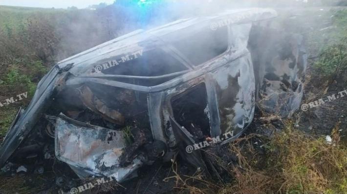 Загинули водій і четверо пасажирів