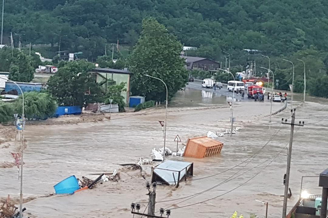 Потоп в Краснодарском крае, РФ