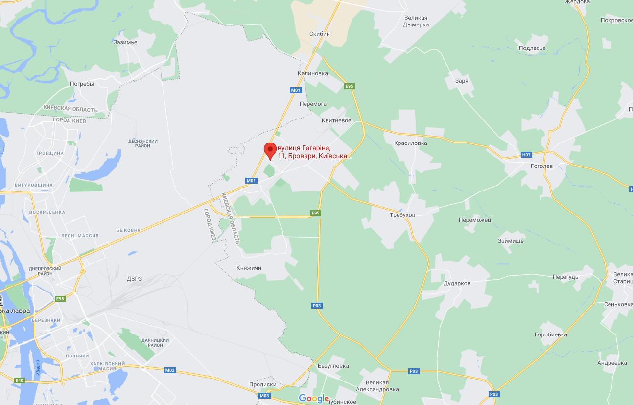 Пожар возник на улице Гагарина 11.