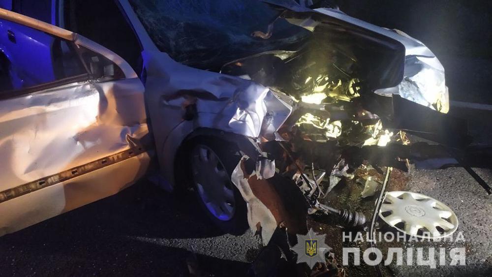 Водій і пасажирка Opel госпіталізовані