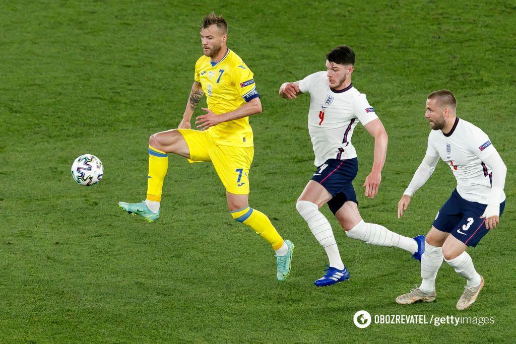 Шевченко вывел Украину в четвертьфинал Евро.