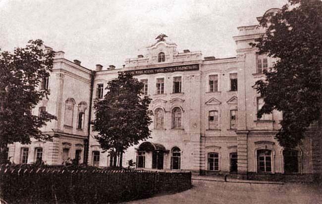 Кловский дворец на Липках.