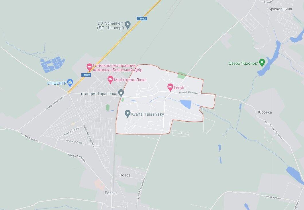 Инцидент произошел в Тарасовке.