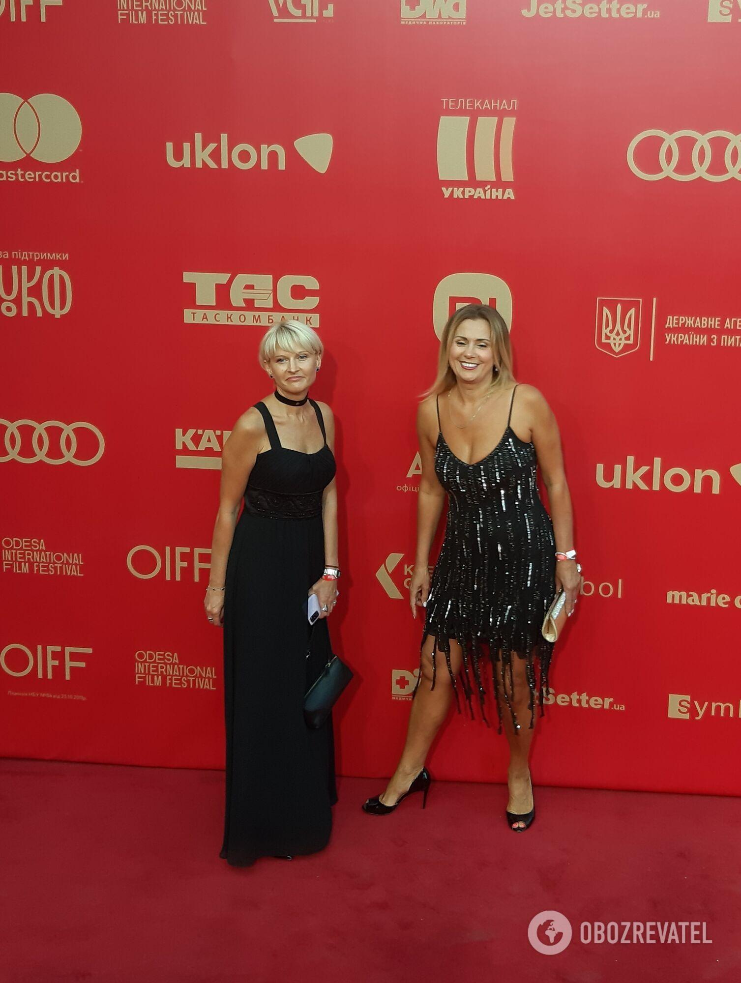 Українські зірки на закритті кінофестивалю ОМКФ