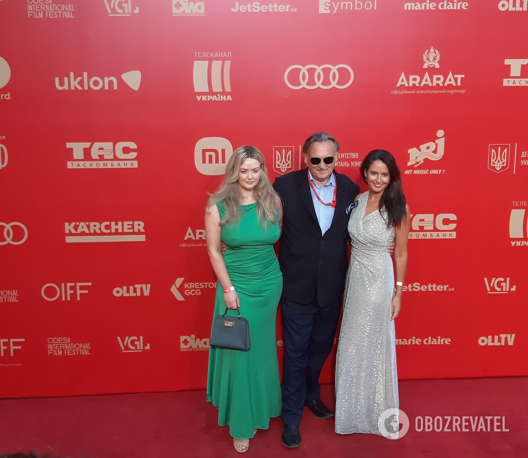 Знаменитості на закритті кінофестивалю в Одесі
