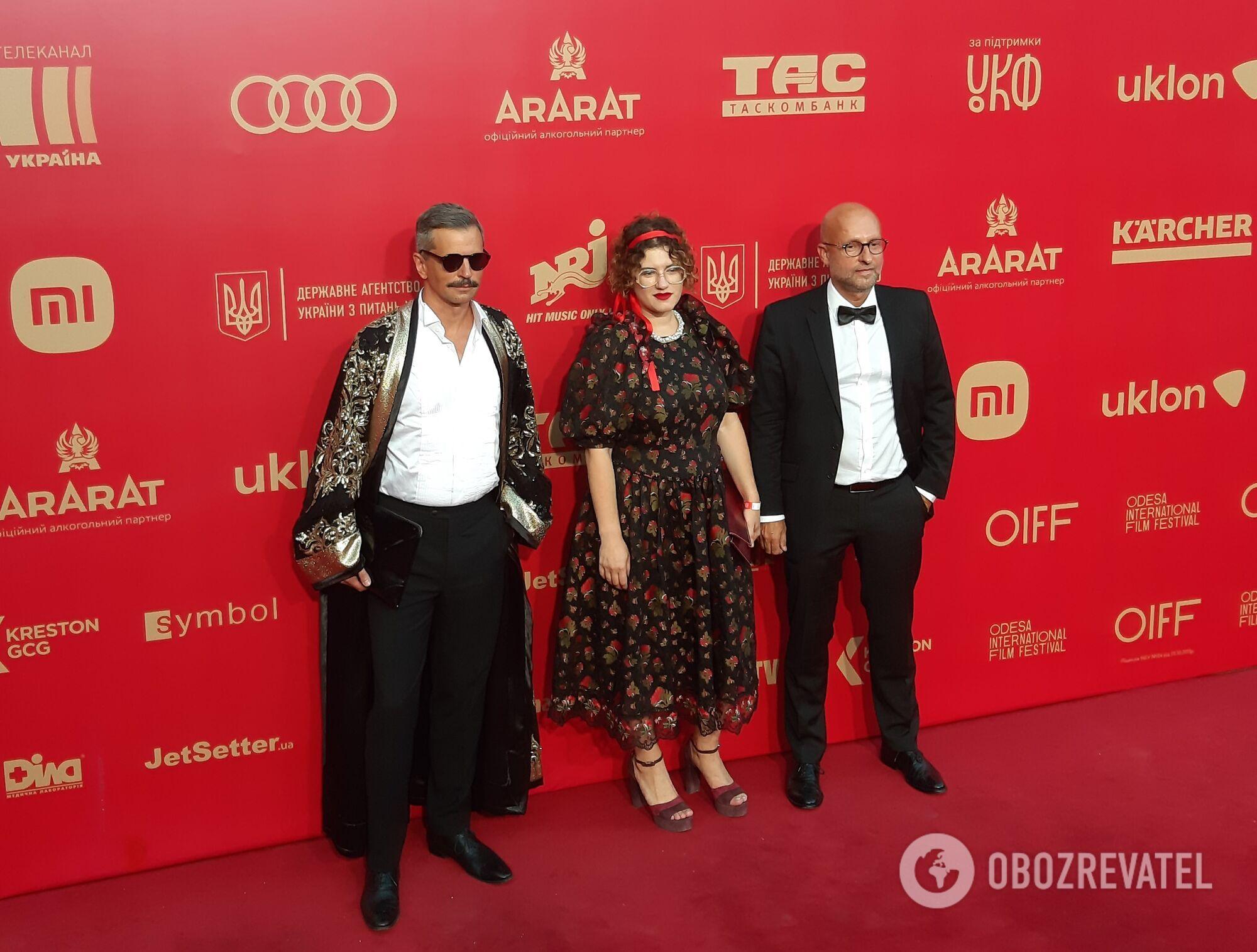 Зірки на закритті кінофестивалю в Одесі