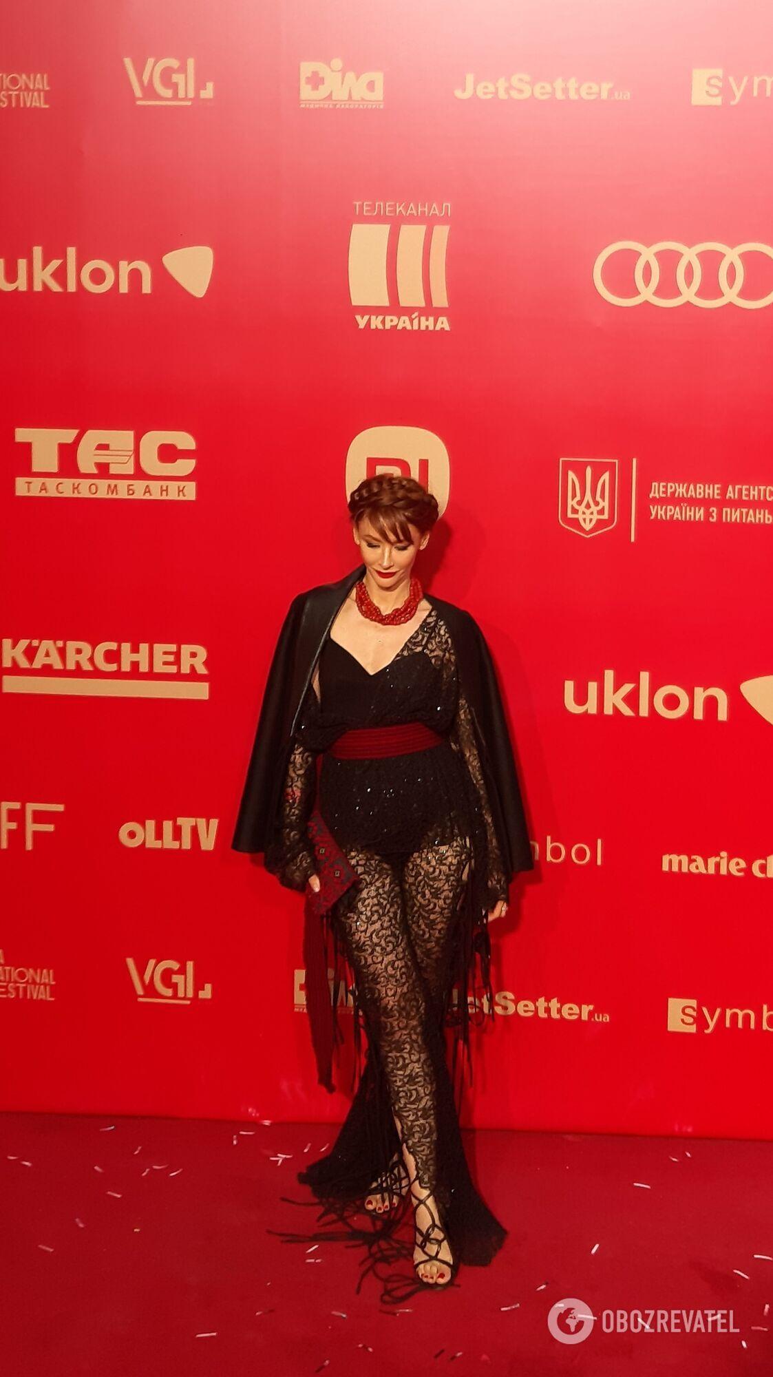 Українські зірки на червоній доріжці кінофестивалю