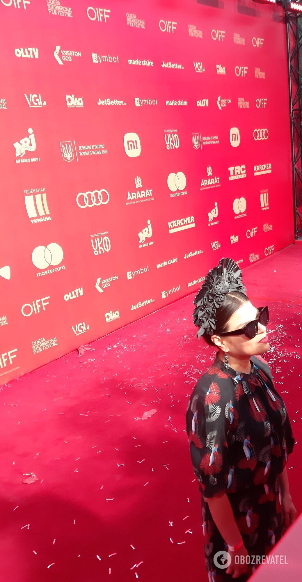 Вбрання українських зірок на закритті кінофестивалю
