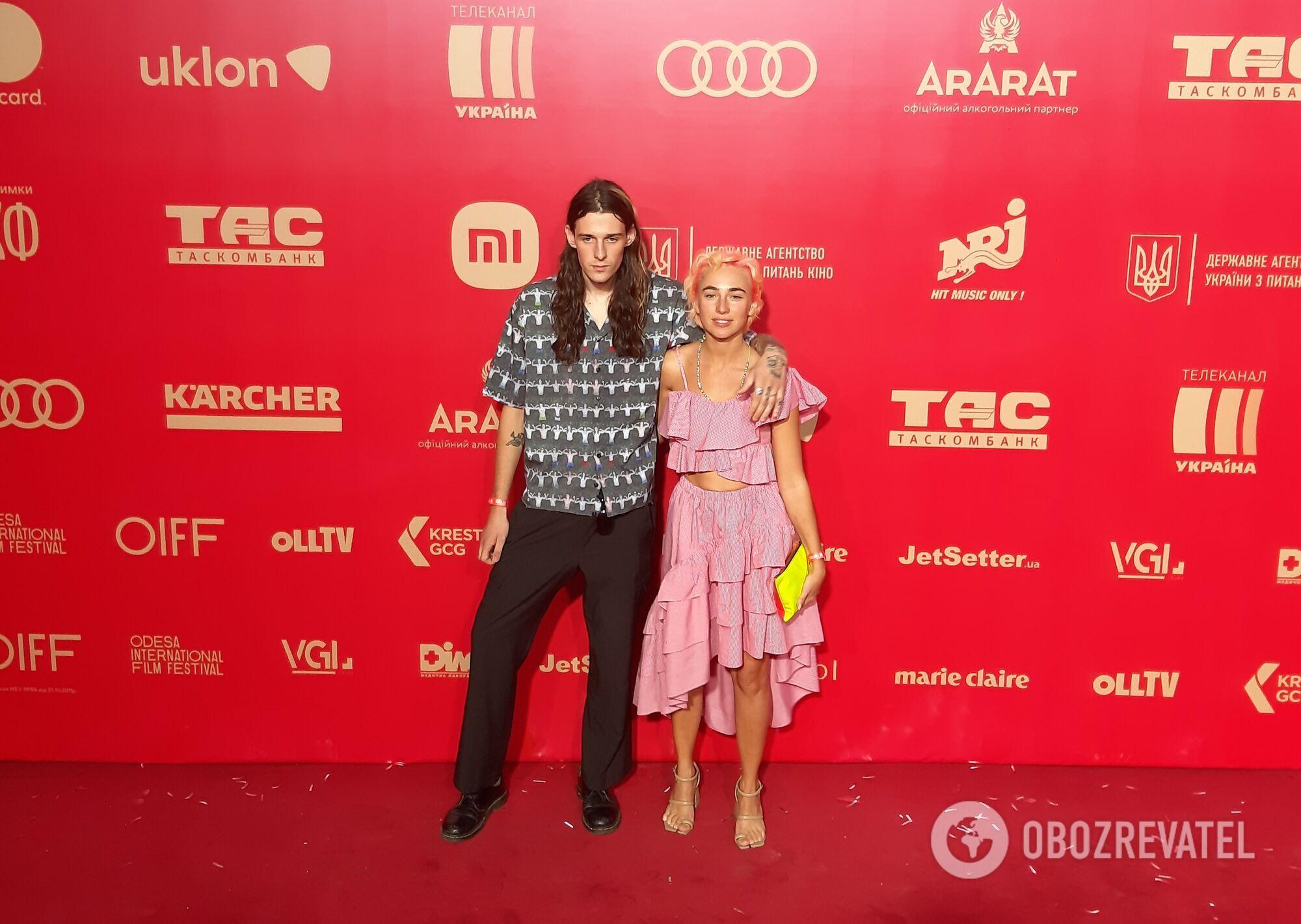 Зірки на червоній доріжці кінофестивалю ОМКФ