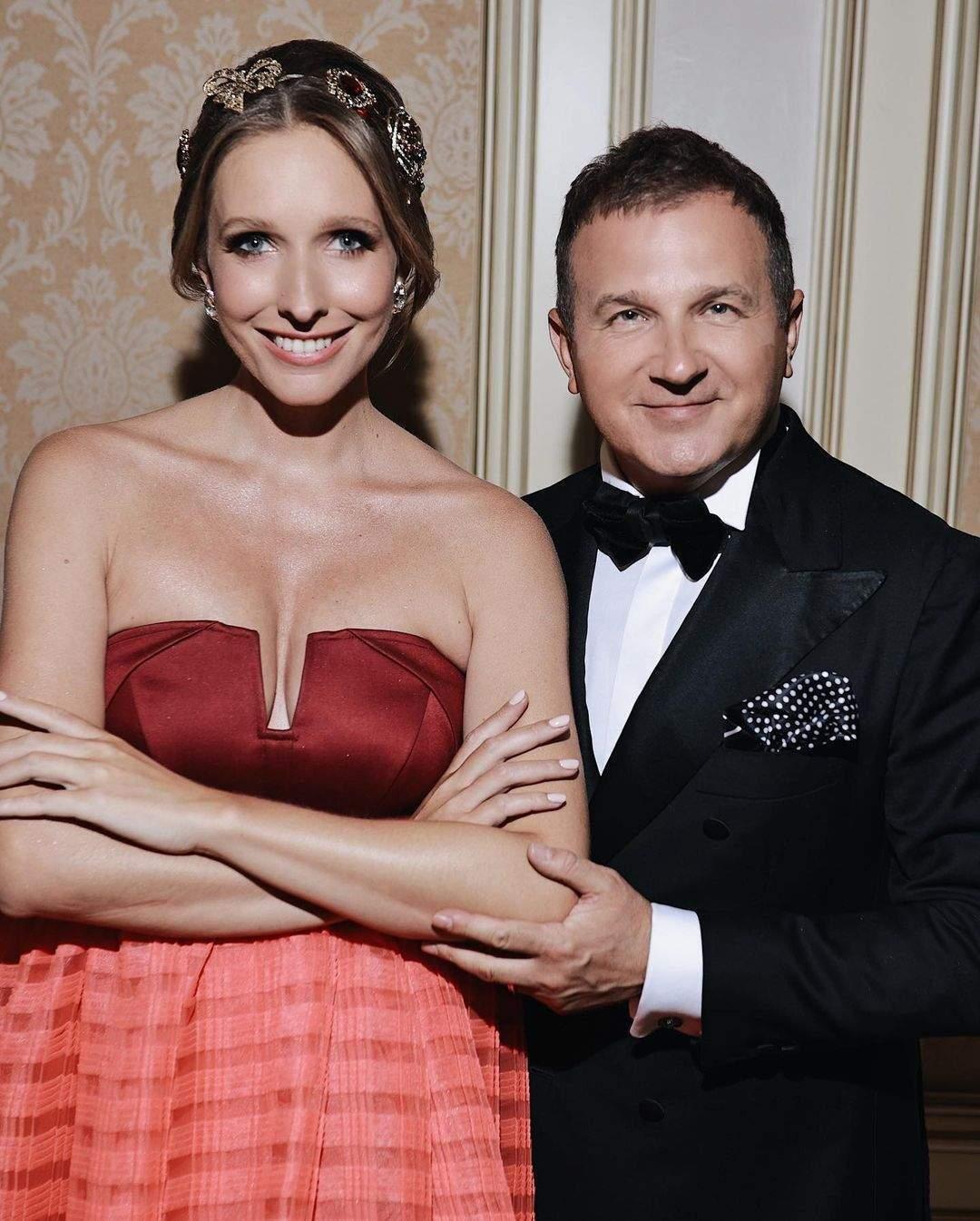 Катя Осадчая и Юрий Горбунов поженились в 2017 году