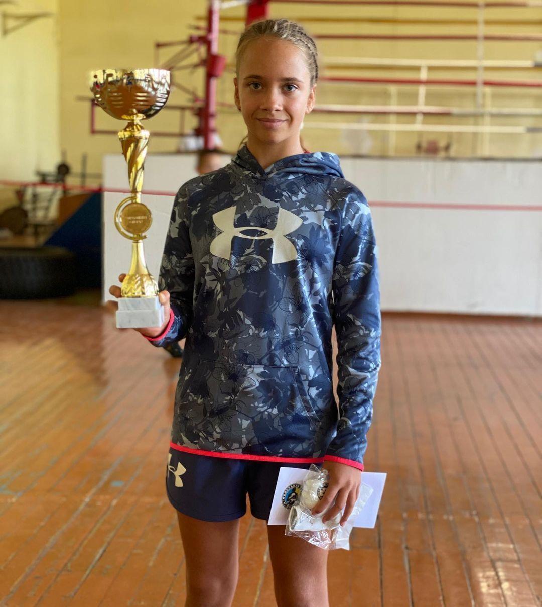 Кира Макогоненко выиграла Кубок Днепра