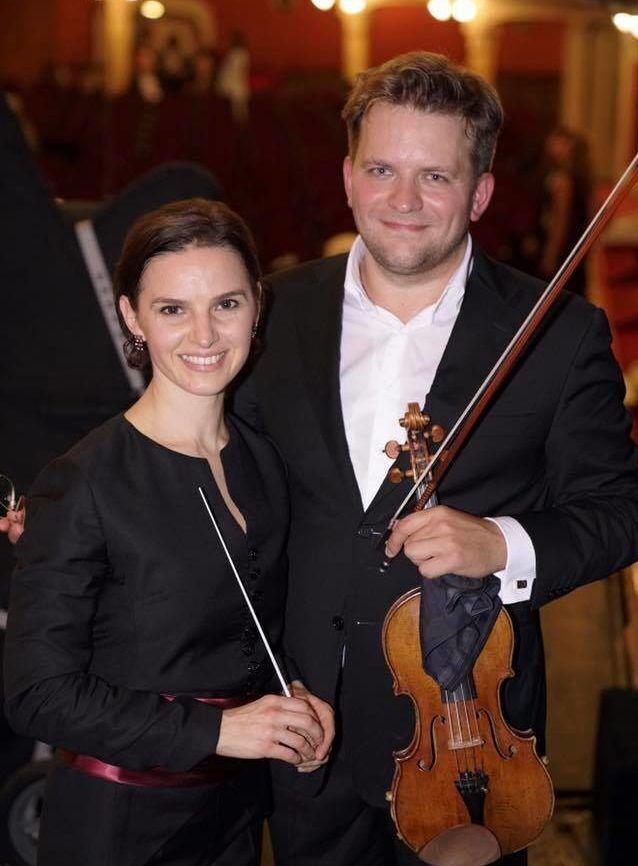 Валерий Соколов и... Совершенно верно, Оксана Лынив!