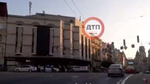 ДТП трапилася в центрі міста.