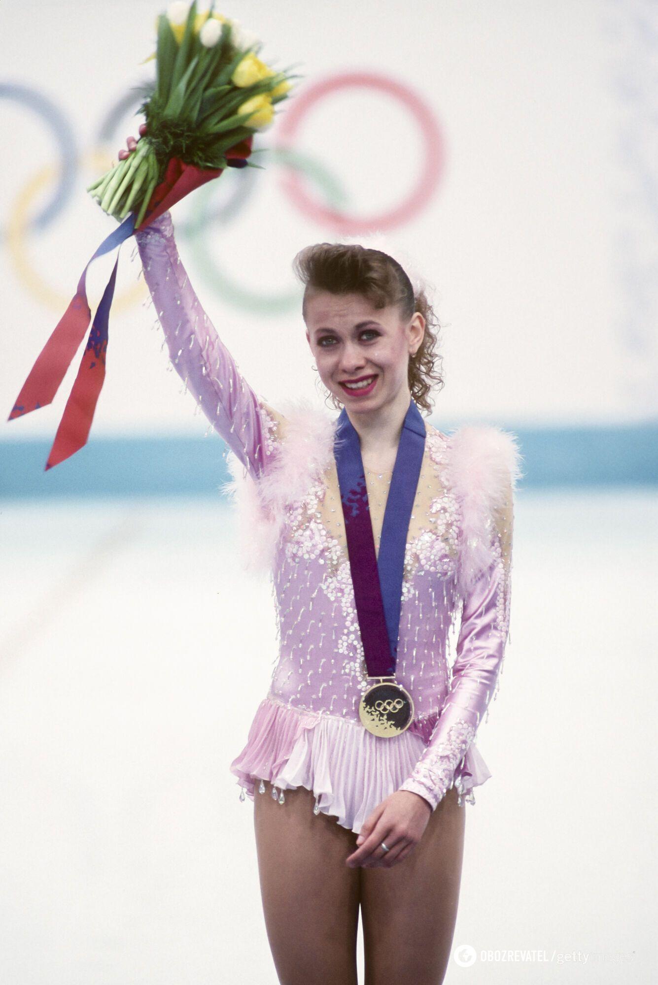 Оксана Баюл (1994 рік)
