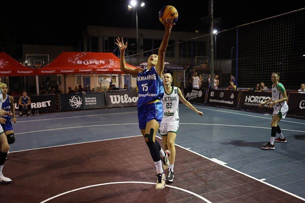 Украинки выиграли этап баскетбольной Лиги наций 3х3 U-23