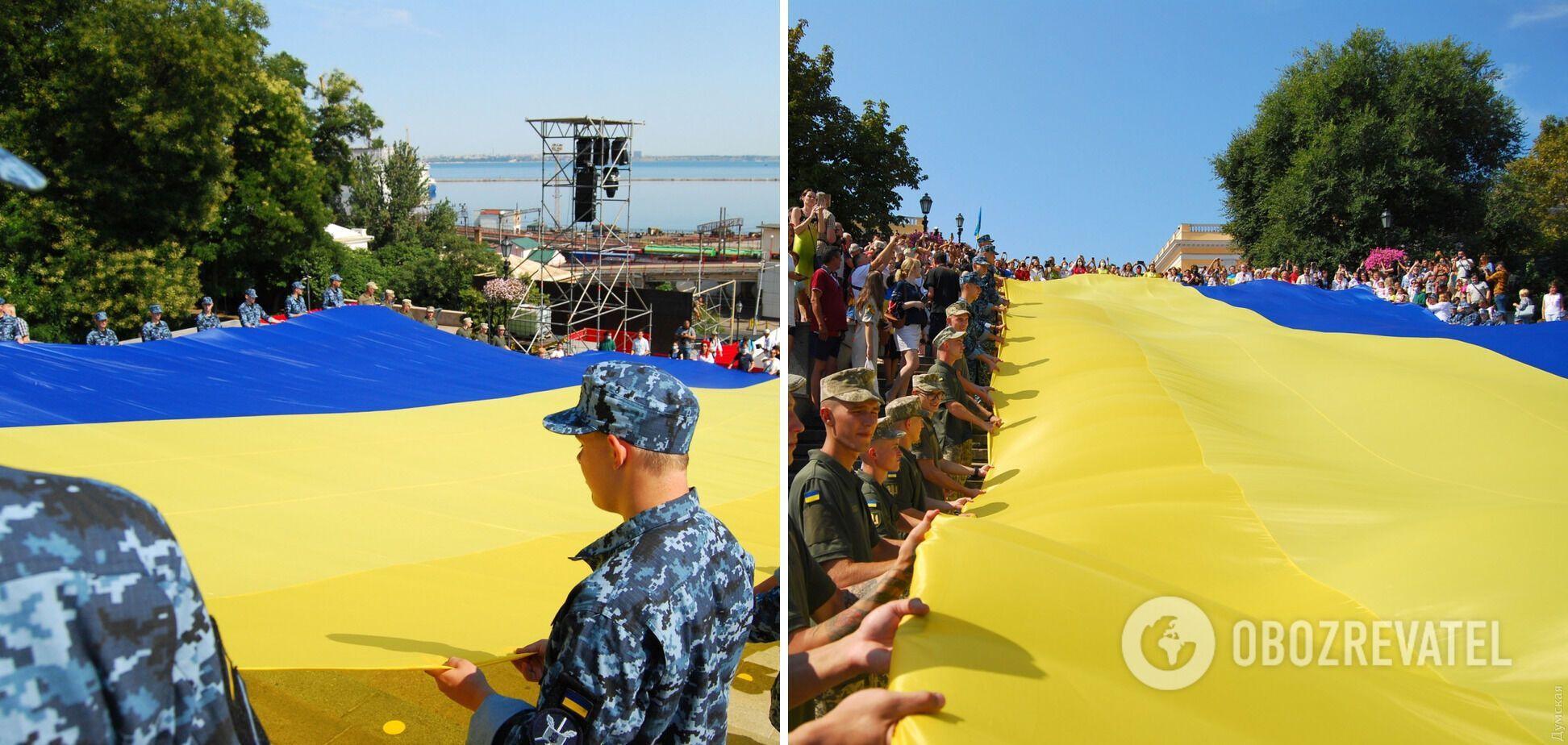 30-метровый флаг Украины