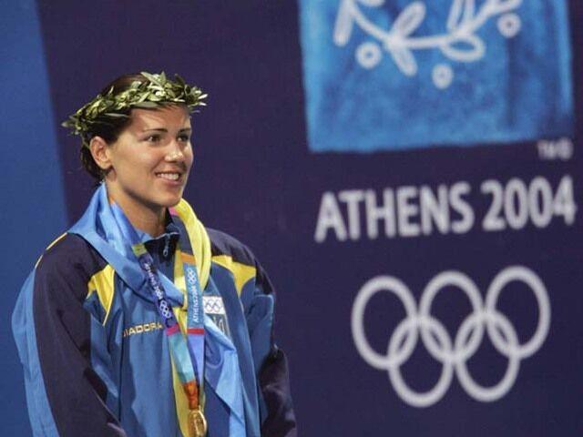 Клочкова выиграла Игры-2004.