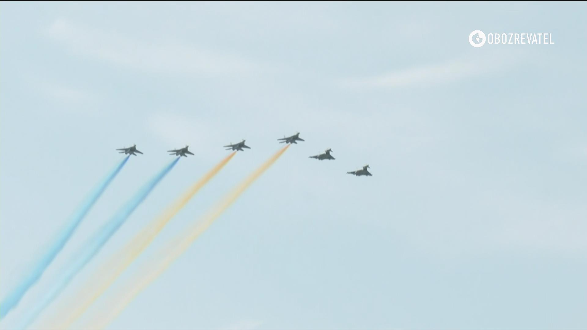 Авіація партнерів.
