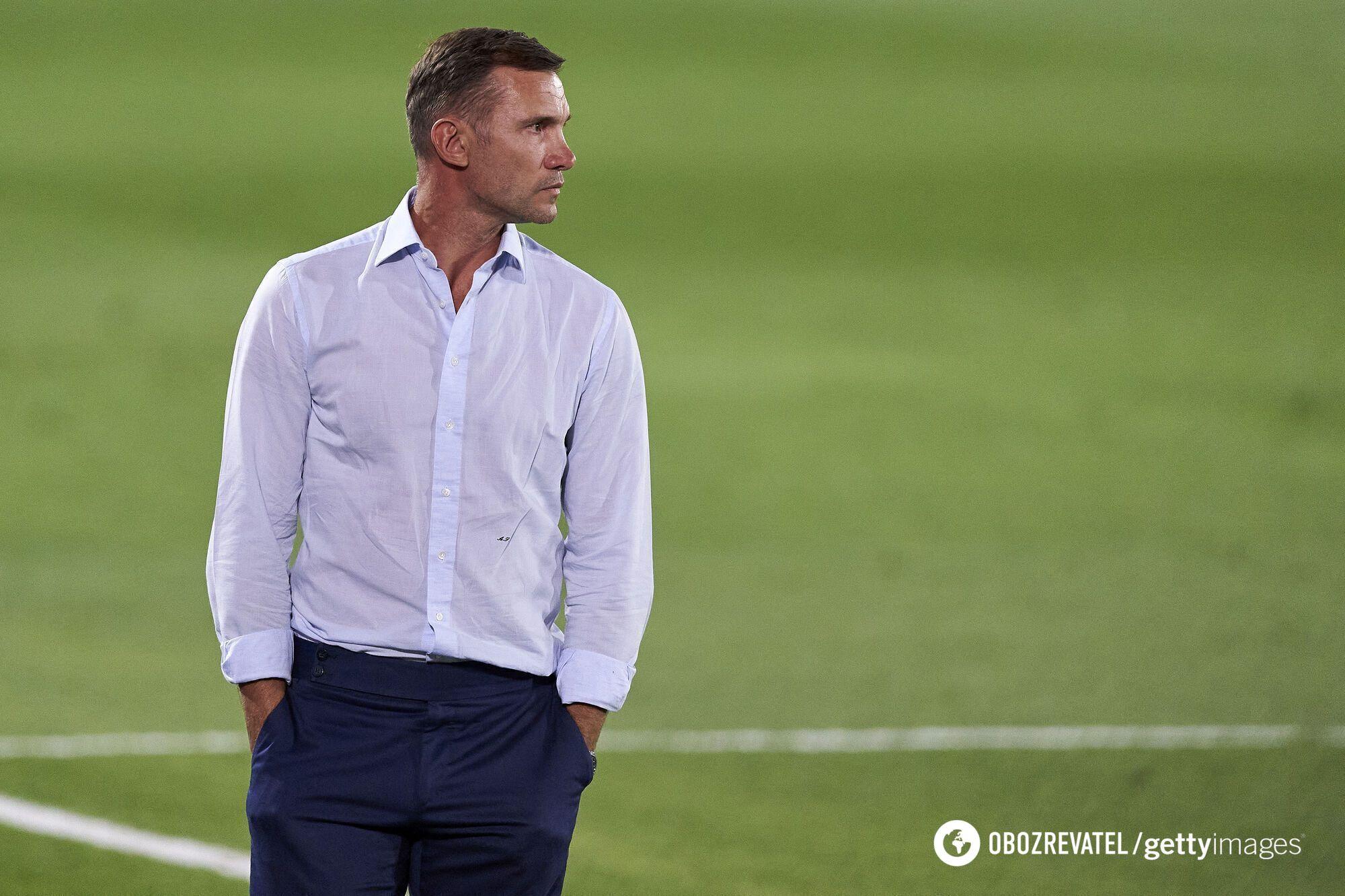 Андрей Шевченко провел пять лет в сборной Украины.