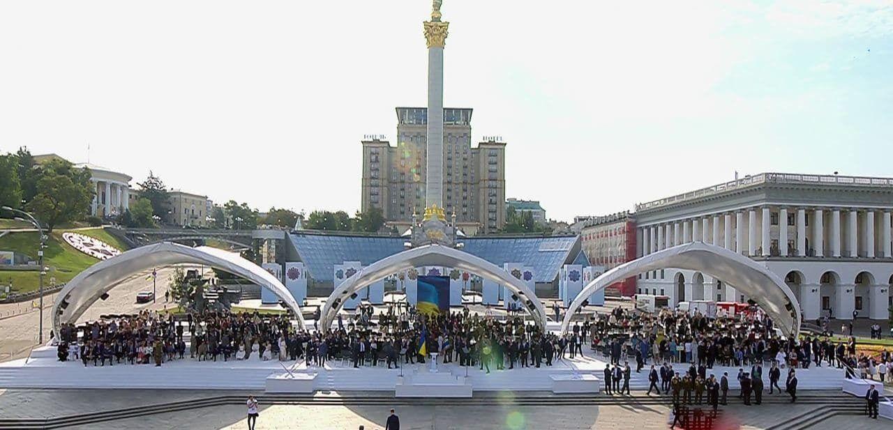 Парад у Києві ось-ось почнеться.