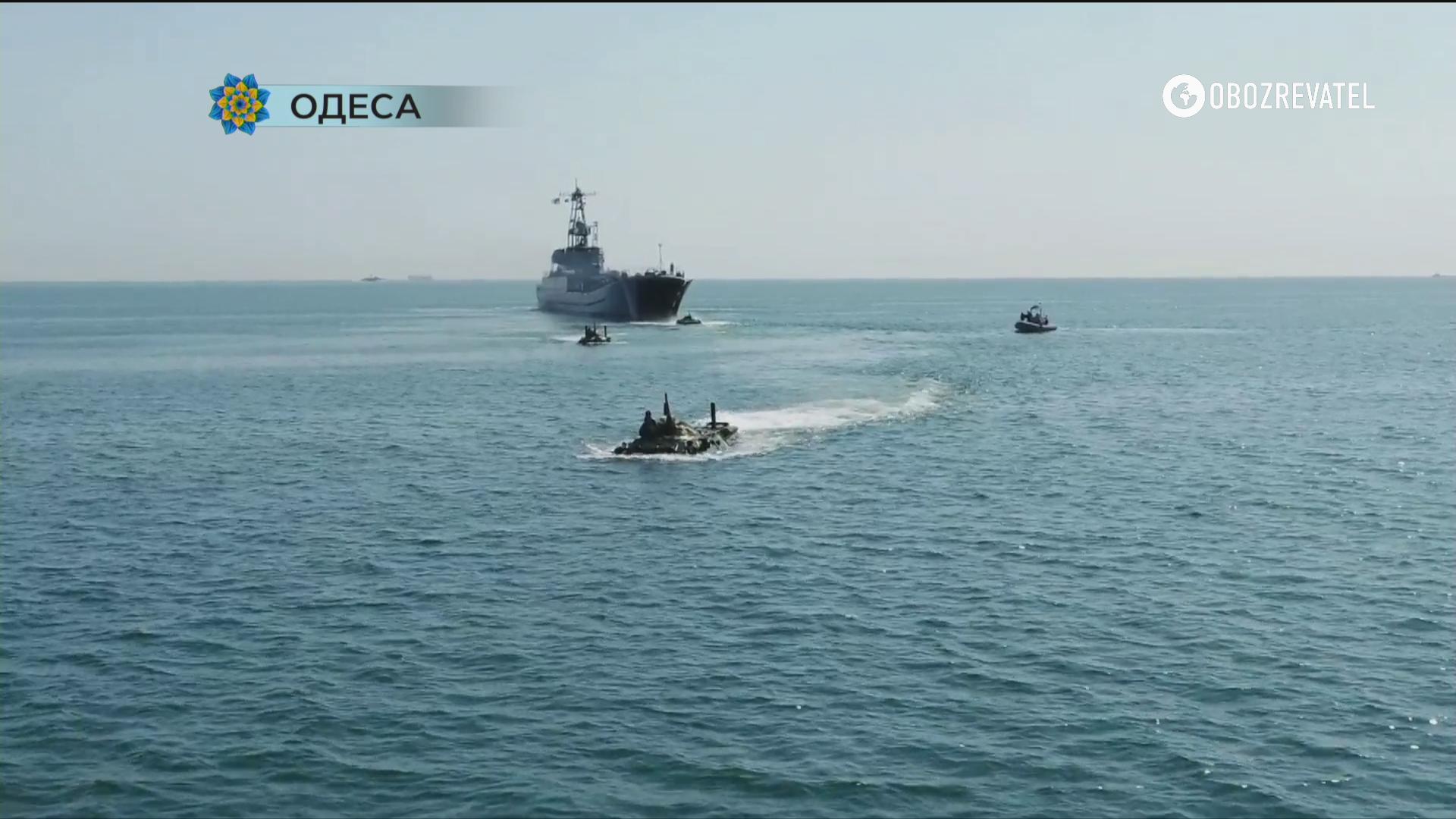 Кораблі в Одесі.