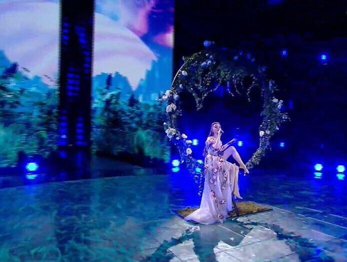 Українська співачка Христина Соловій.