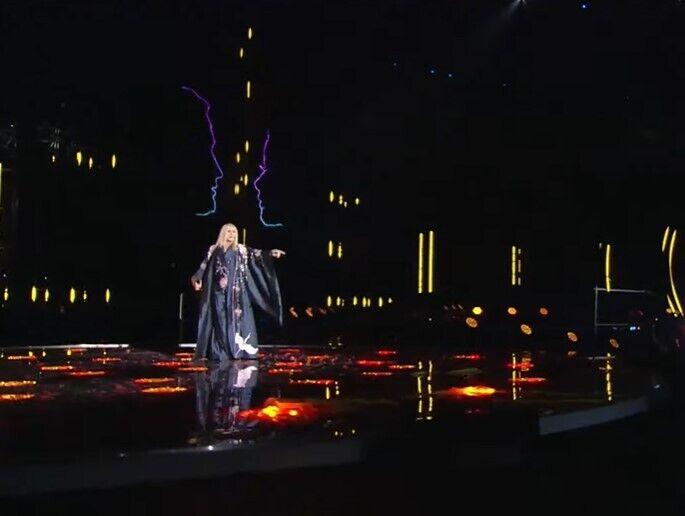 Ірина Білик на святковому концерті.
