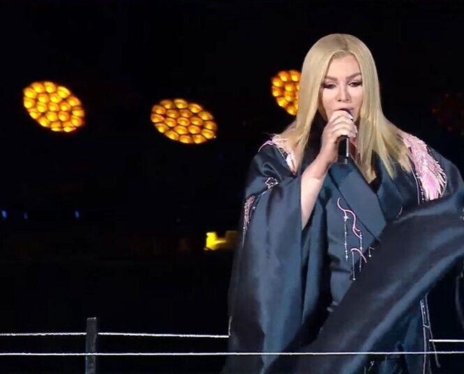 Ірина Білик заспівала відомі хіти.