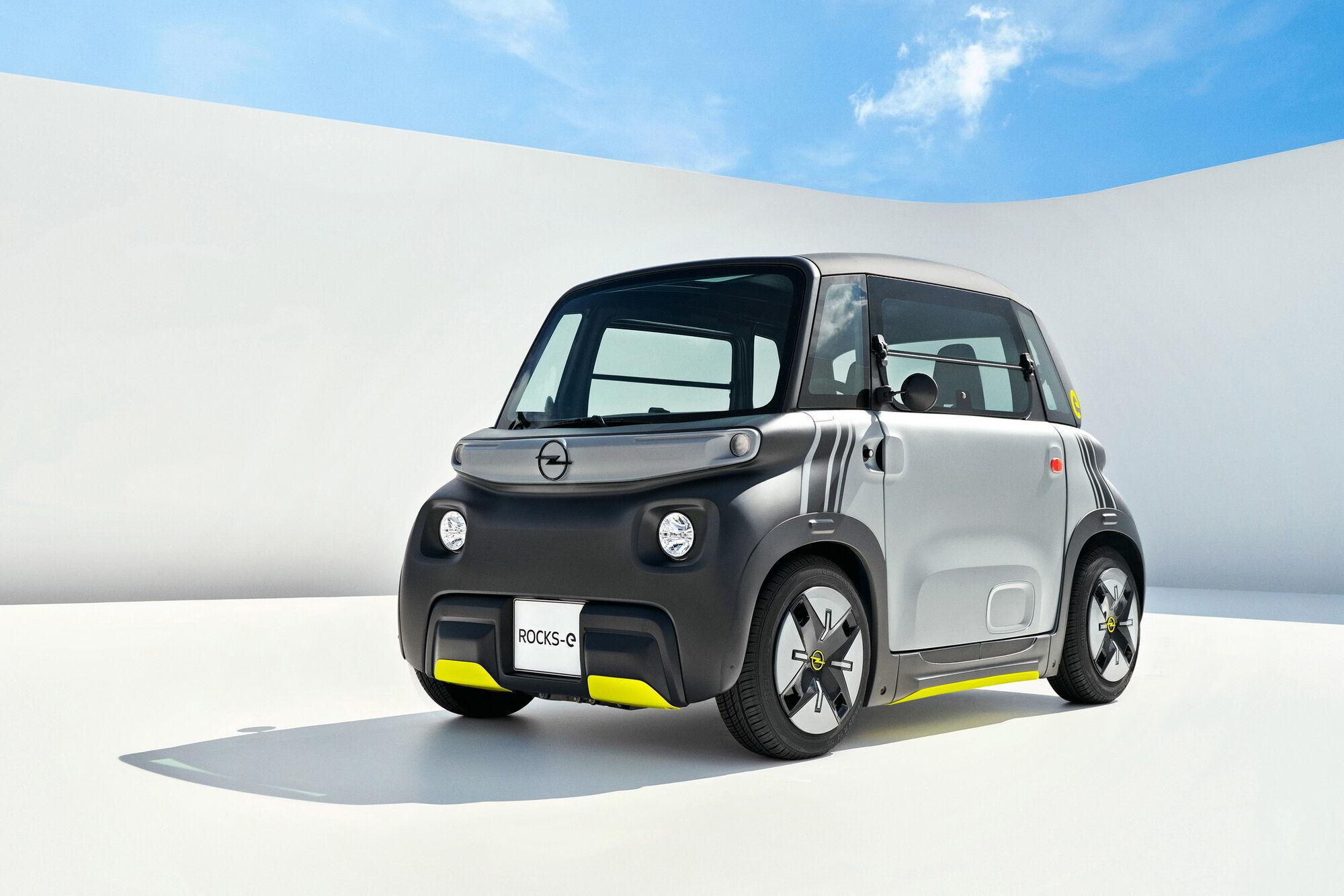 Opel показал городской электромобиль Rocks-e | Электромобили | OBOZREVATEL