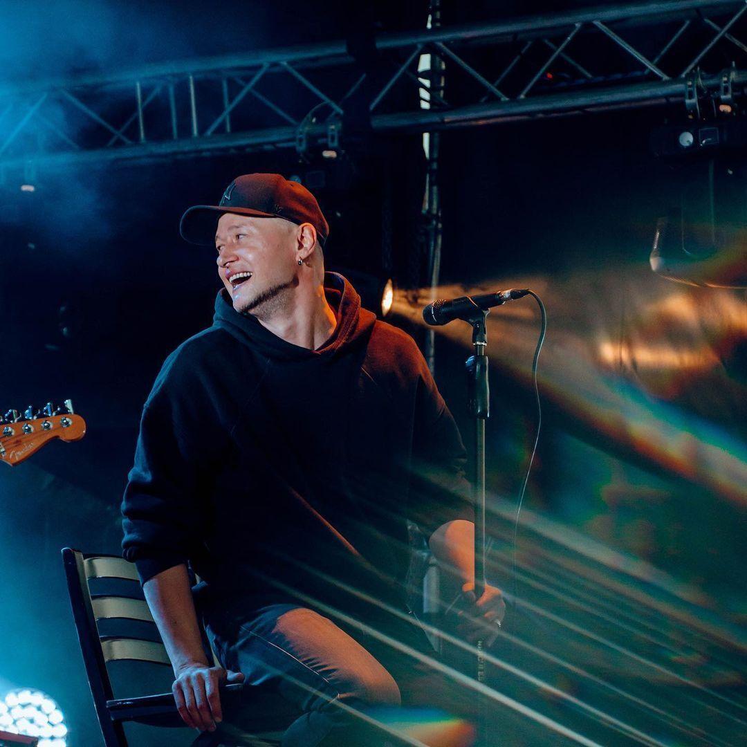 """Лидер группы """"Бумбокс"""" Андрей Хлывнюк – один из самых талантливых исполнителей Украины."""