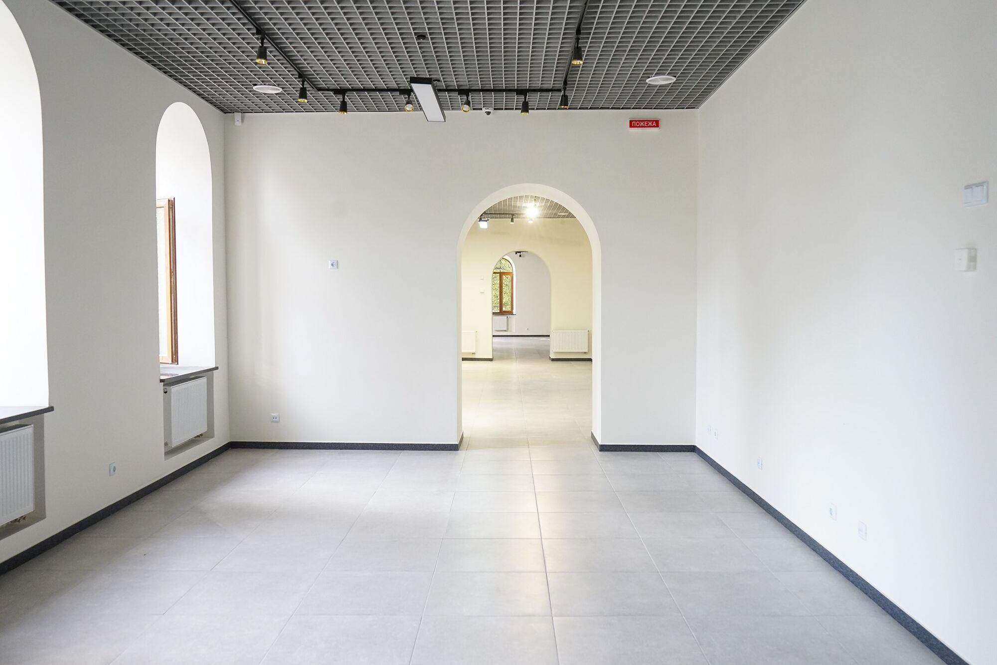 Незабаром у відреставрованих залах встановлять експонати