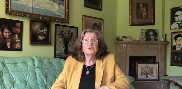 Ольга Кузьменко дала интервью.