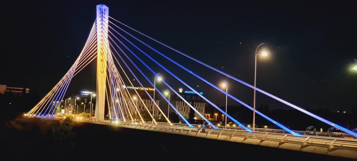 Міст Міленіум, Чорногорія.