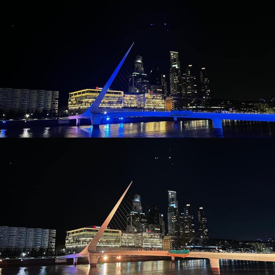 Міст Пуенте де ла Мухер, Аргентина.