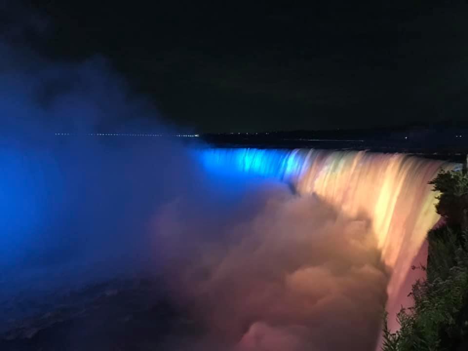 Ніагарський водоспад, Канада.