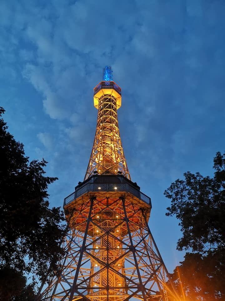 Петршінська оглядова вежа, Чехія.