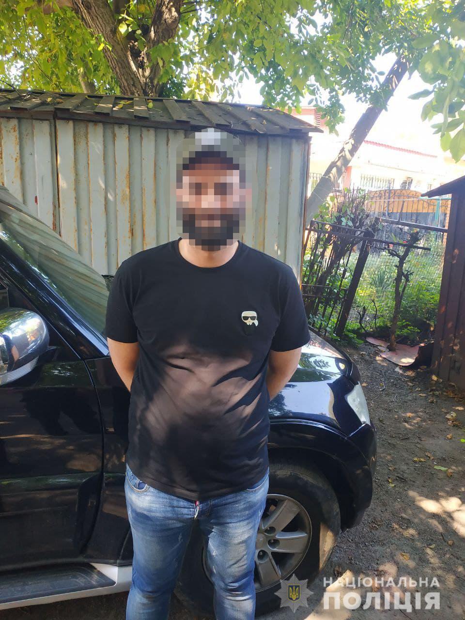 Задержан 33-летний гражданин Израиля