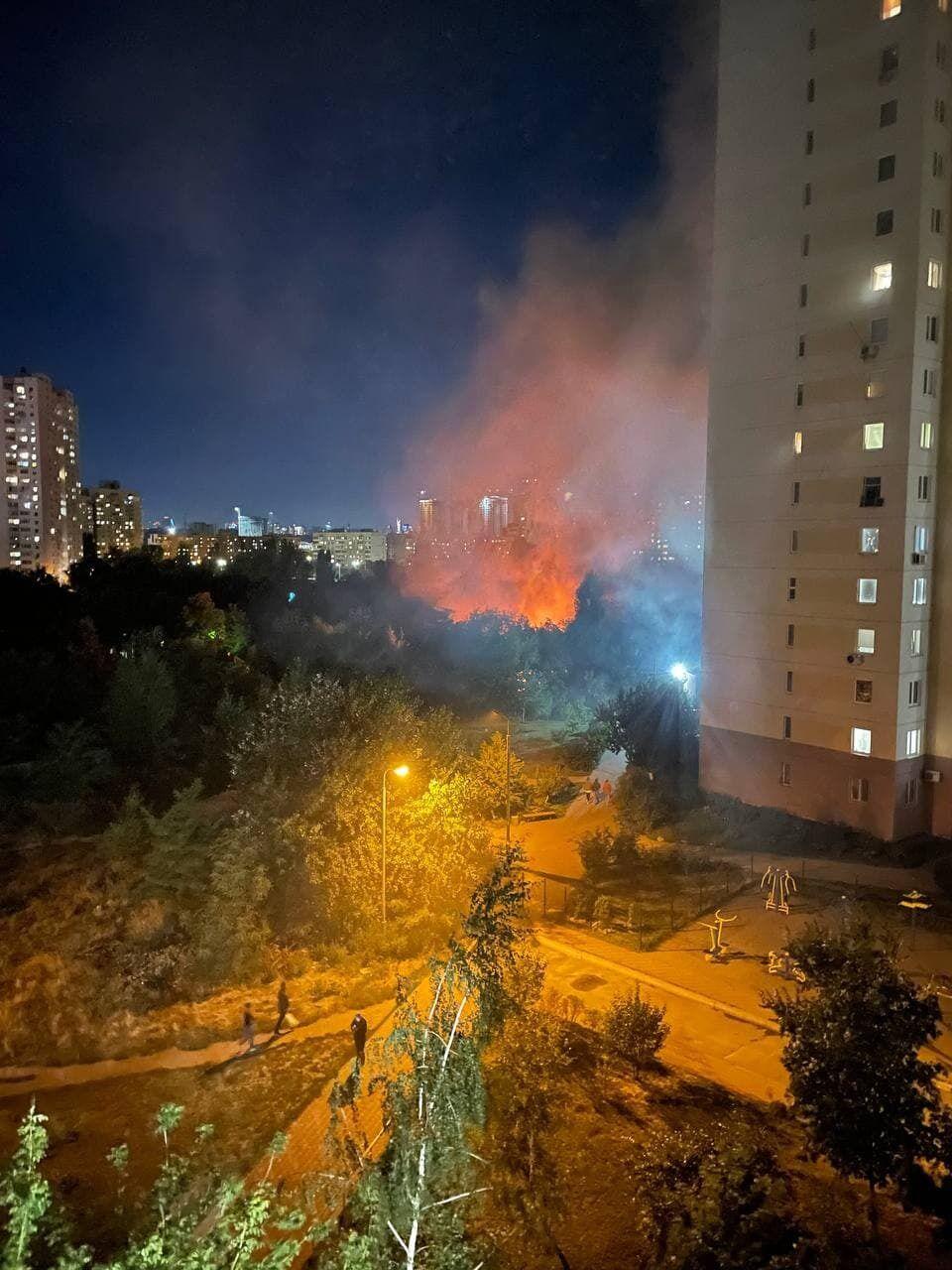 Жилой дом практически полностью сгорел