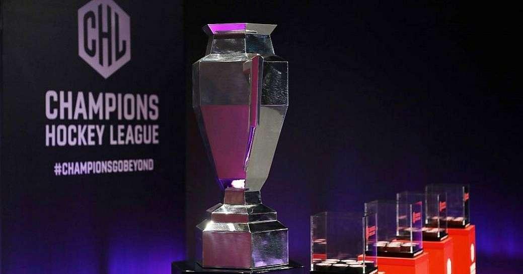 Трофей хокейної Ліги чемпіонів.