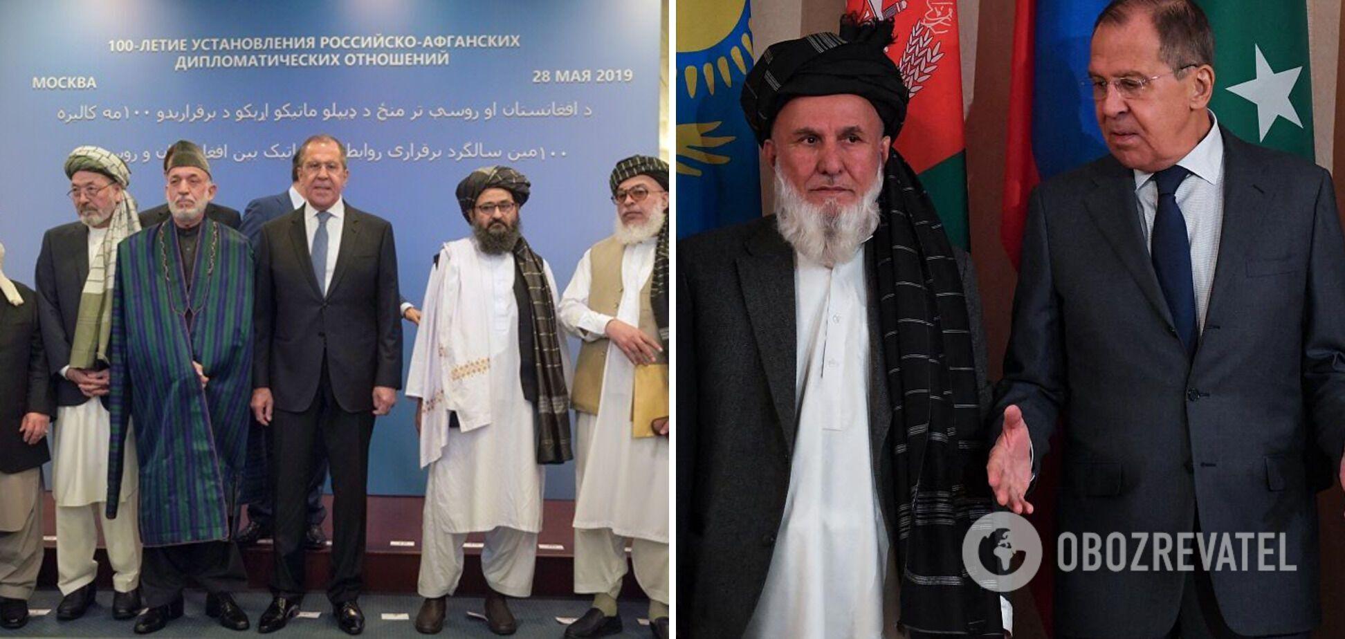 Делегация талибов в Москве
