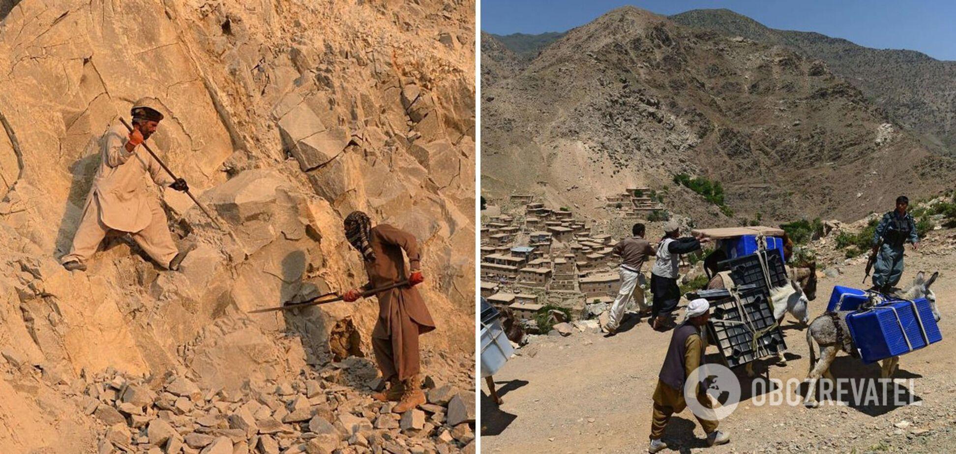 Геологи обнаружили на территории Афганистана огромные залежи полезных ископаемых